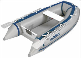 LodeStar HYPALON - inflatable boats have the same features